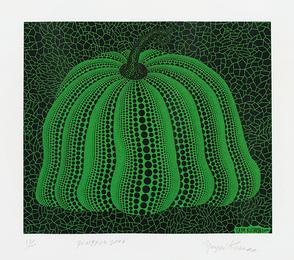 Yayoi Kusama, 'Pumpkin 2000 (Green),' 2000, Phillips: Evening and Day Editions