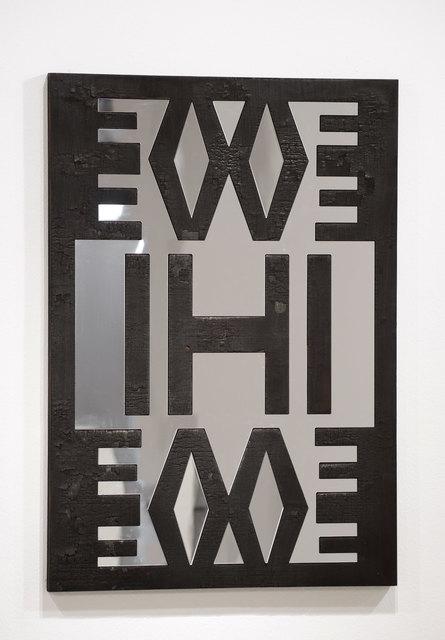 , 'Four Letter Brand (Evil) 1,' 2009/2014, Goodman Gallery