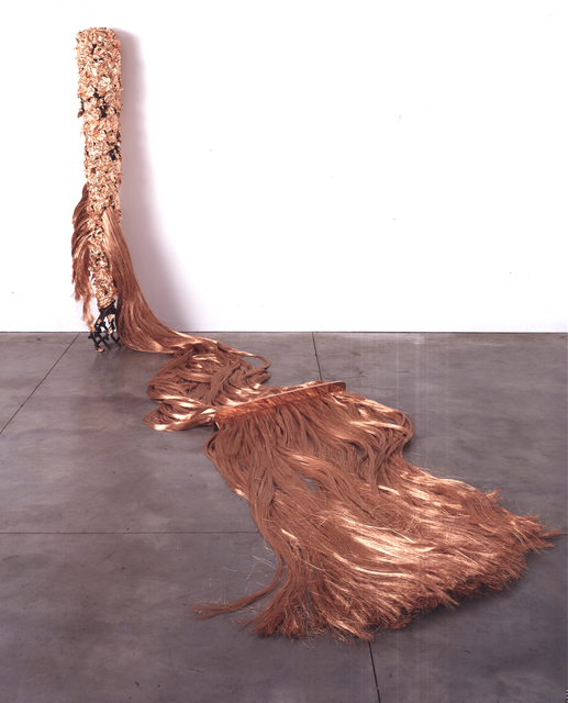, 'Tacape Escalpe (pente e fios),' 1986, Galleria Franco Noero