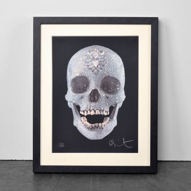 Damien Hirst, 'For the Love of God (with Diamond Dust)', 2009, Weng Contemporary