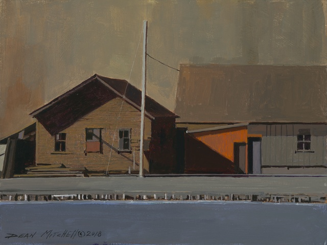 , 'Green Bay Waterfront,' 2018, Mac-Gryder Gallery