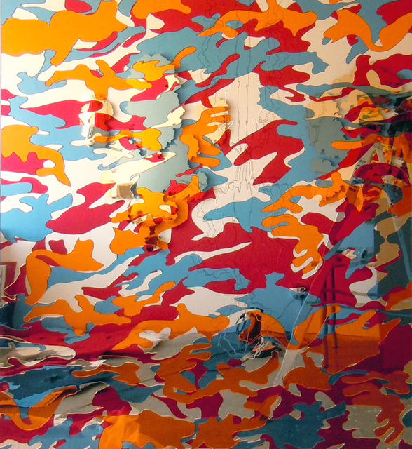 Paul Hosking, 'Mimic (Gold #2)', 2013, Michael Fuchs Galerie