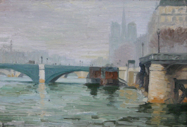 , 'View Along the Seine,' , Avery Galleries