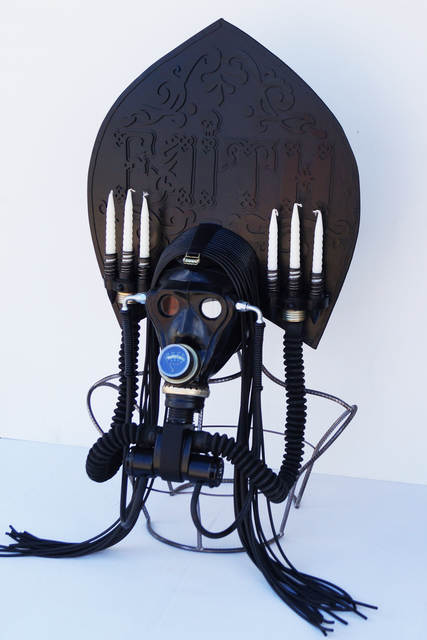 ", 'Kokosnik - Gas Mask ""Faith"",' , 11.12 Gallery"