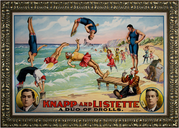 Unknown Artist, 'Knapp & Listette: A Duo of Drolls', 1895, David Barnett Gallery