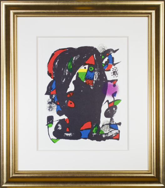 """, 'Lithographie Originale IV from """"Miro Lithographs IV, Maeght Publisher"""",' 1975, David Barnett Gallery"""