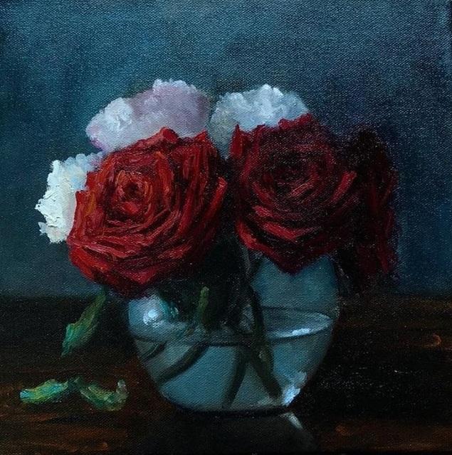 , 'Roses,' 2018, Ro2 Art