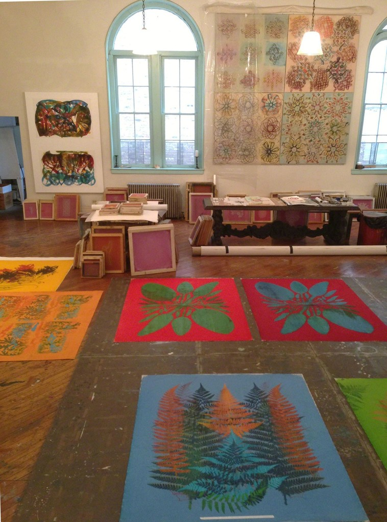 Philip Taaffe, 'Philip Taaffe Studio,' 2014, Luhring Augustine