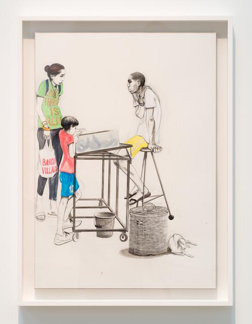 Charles Avery, 'Untitled (Eel Seller, Onomatopoeia)', 2019, Ingleby Gallery