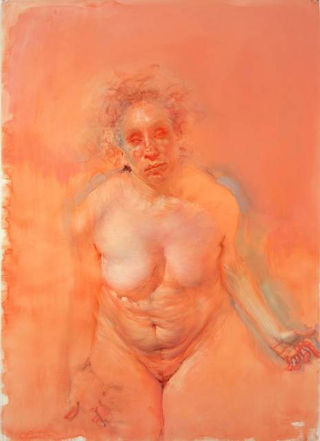 , 'Bending over study (orange),' 2006, Stanek Gallery
