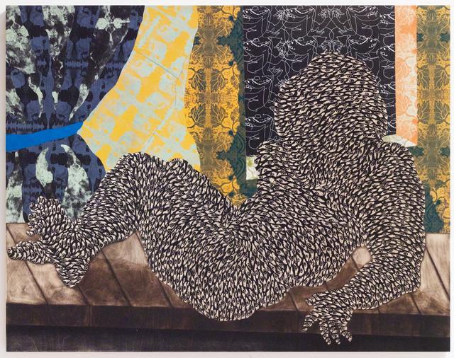 , 'Ki moun ki rele Olympia,' 2018, James Fuentes