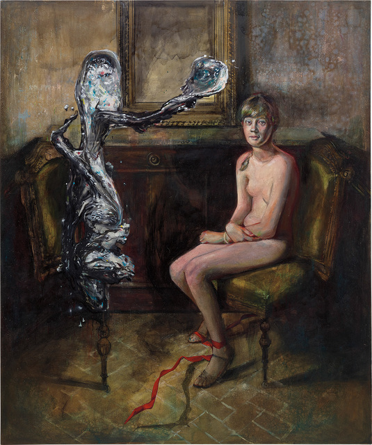 Martin Eder, 'Die Stimme aus Metall', 2003, Phillips