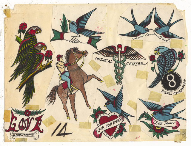 , 'Untitled (Swallows Medical Center),' ca. 1950, Ricco/Maresca Gallery