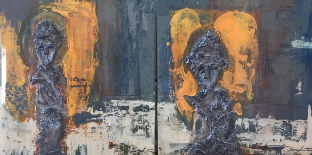 Sylvain Tremblay, 'D'une regard à l'autre (Diptyque)', 2017, Thompson Landry Gallery