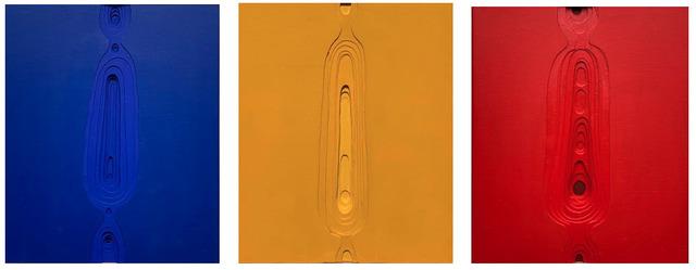 , 'Organico Rojo, Amarillo y Azul,' 2019, REM Project