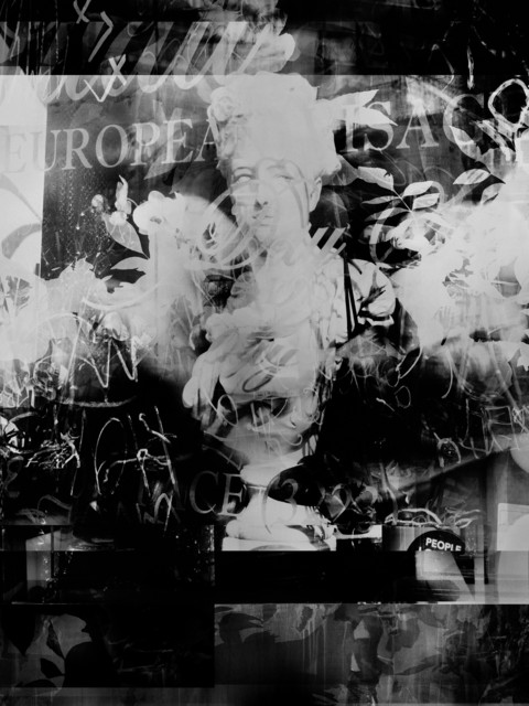 Valérie Belin, 'Fox Chase Antiques (Reflection) ', 2019, Photography, Pigment print back-mounted on Dibond and framed with non reflect glass, Galerie Nathalie Obadia