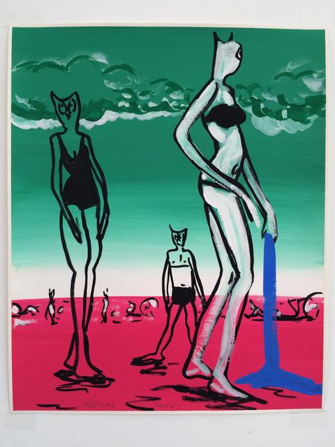 """, '""""Pouldu couleur"""" 4,' 2016, Galerie Laurent Godin"""