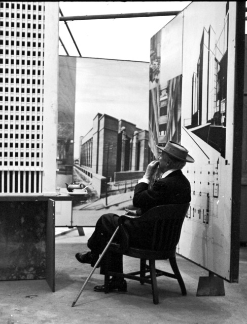 , 'Frank Lloyd Wright, Tea Break, Guggenheim Pavilion, New York, NY,' 1953, Edward Cella Art and Architecture
