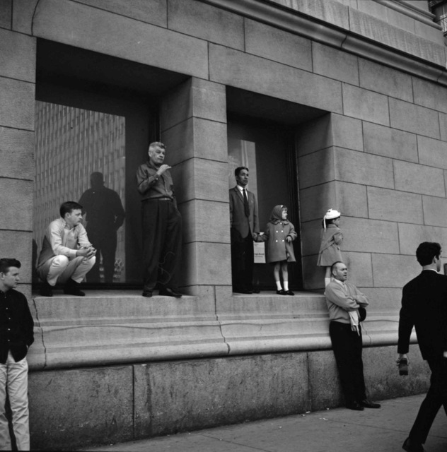 , 'Waiting For Bus (VM1965W01489_1),' 1965, KP Projects