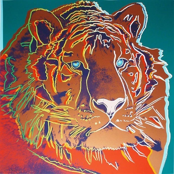 Andy Warhol, 'ENDANGERED SPECIES: SIBERIAN TIGER FS II.297', 1983, Marcel Katz Art