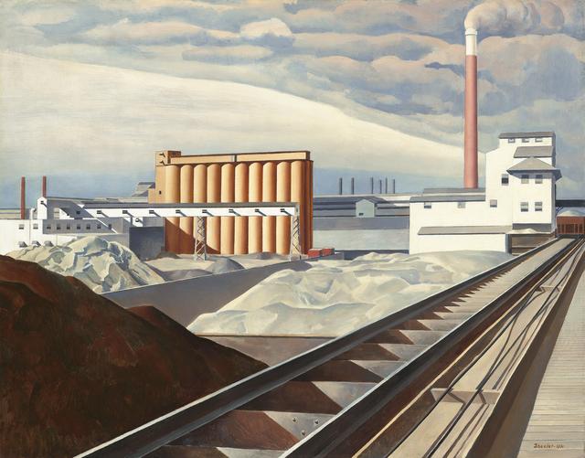 , 'Classic Landscape,' 1931, de Young Museum