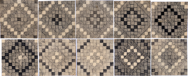 , 'Drawings for Expanding Permutation,' 1969, Annely Juda Fine Art