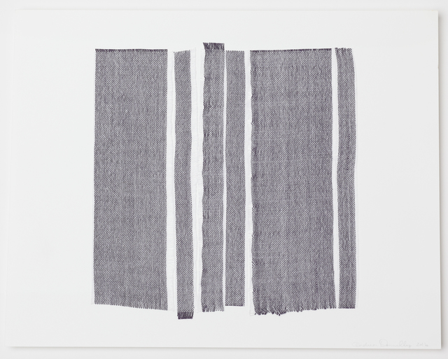 , 'Woven Line Study #1,' 2016, Reynolds Gallery