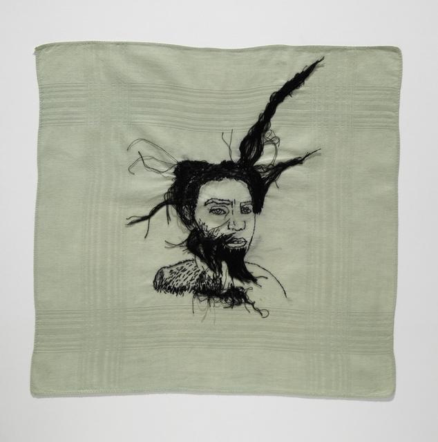 , 'autorretrato com pelos,' 2016, Galeria Nara Roesler