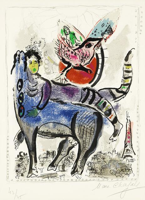 Marc Chagall, 'La Vache Bleu', 1967, Fairhead Fine Art Limited