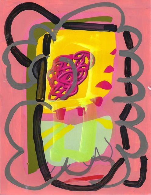 , 'Pink Fluorescent,' 2015, Ro2 Art