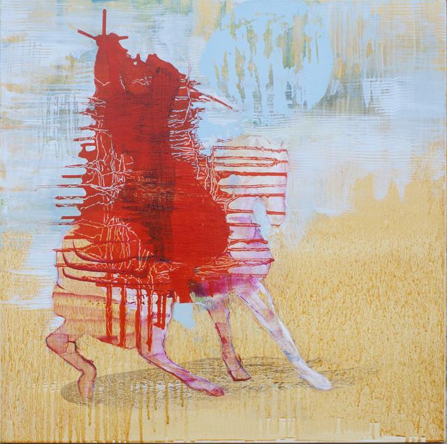 , 'Red Rider,' 2017, Dominik Mersch Gallery