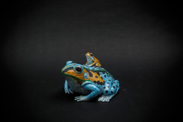 , '15. Sky blue Frog,' 2017, Sladmore Contemporary
