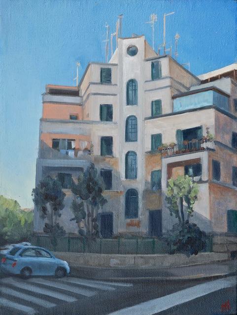 Pamela Talese, 'Il Albergo Bianco di Innocenzo Sabbatini Garbatella ', Robert Simon Fine Art