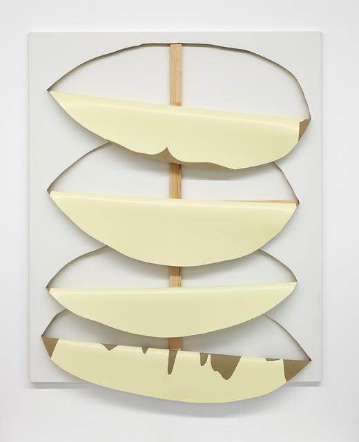 , 'Untitled (Yellow),' 2018, Taubert Contemporary