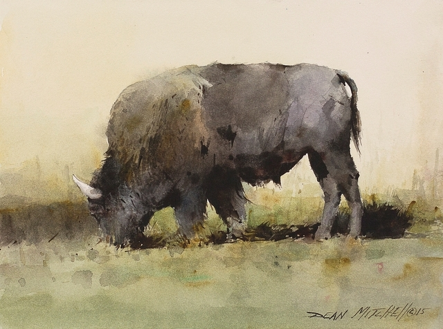 , 'Yellowstone Bison,' 2015, Cutter & Cutter Fine Art