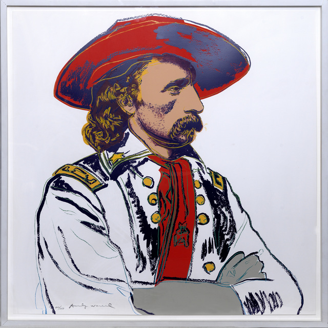 Andy Warhol, 'General Custer', 1986, Print, Screenprint on colours., Sims Reed Gallery