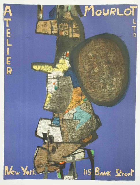 Maurice Estève, 'Atelier Mourlot, New York, 115 Bank Street', 1967, The Munn Collection