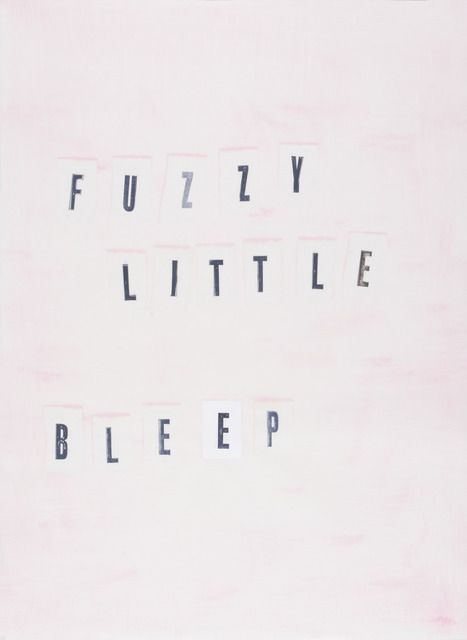 , 'Fuzzy Little Bleep,' 2016, Highpoint Editions