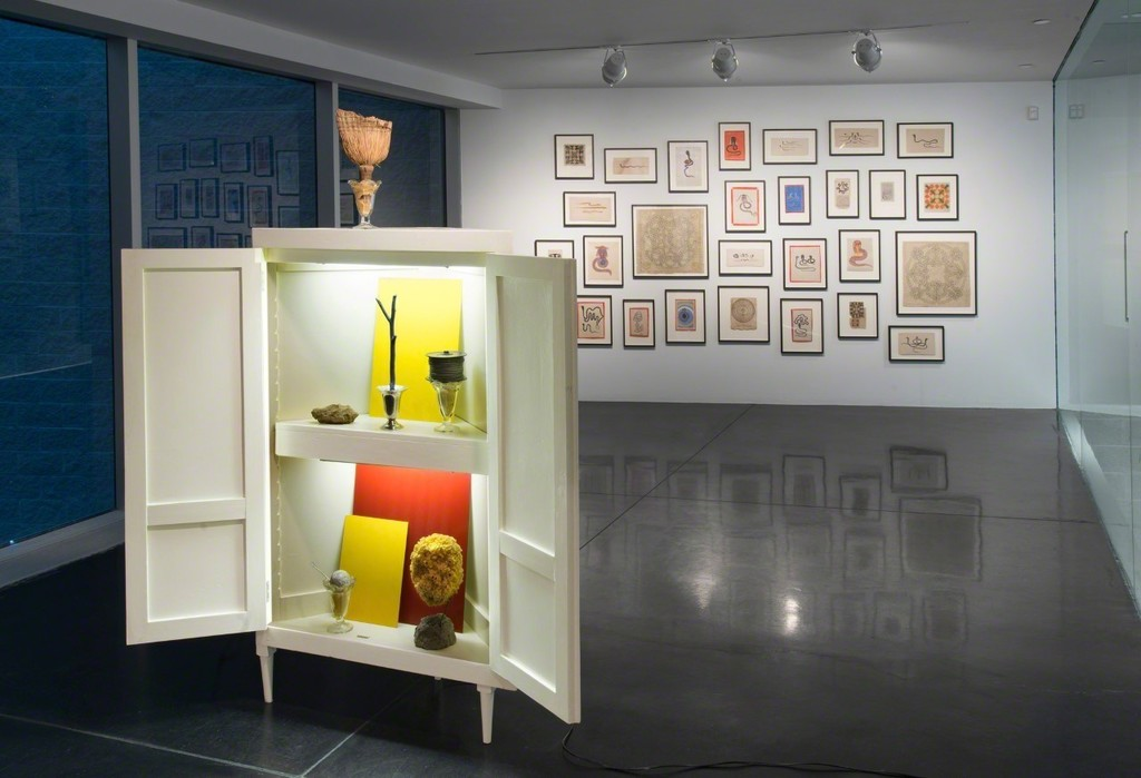"""Installation view, """"If I had Possession Over Judgement Day: Collections of Claude Simard"""", Tang Teaching Museum, 2017, photo by Jeremy Lawson"""