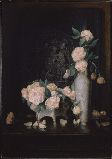 Julian Alden Weir, 'Roses', 1883-1884, Phillips Collection