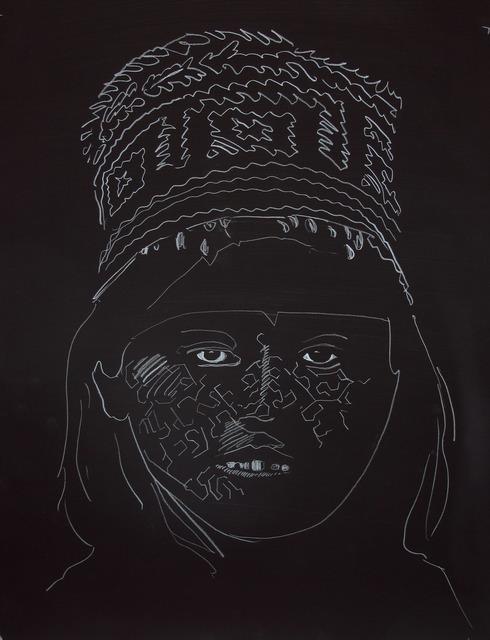 , 'Señorita De La Noche (Black),' 2014, Sic