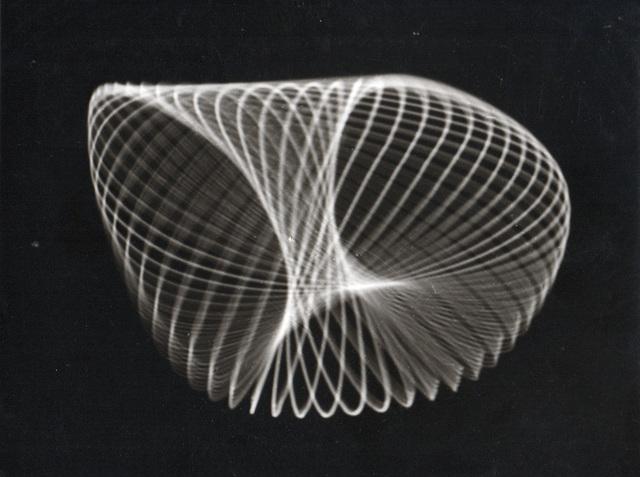 , 'Untitled (Analog graphic, Oscillograms),' ca. 1950, SCHEUBLEIN + BAK