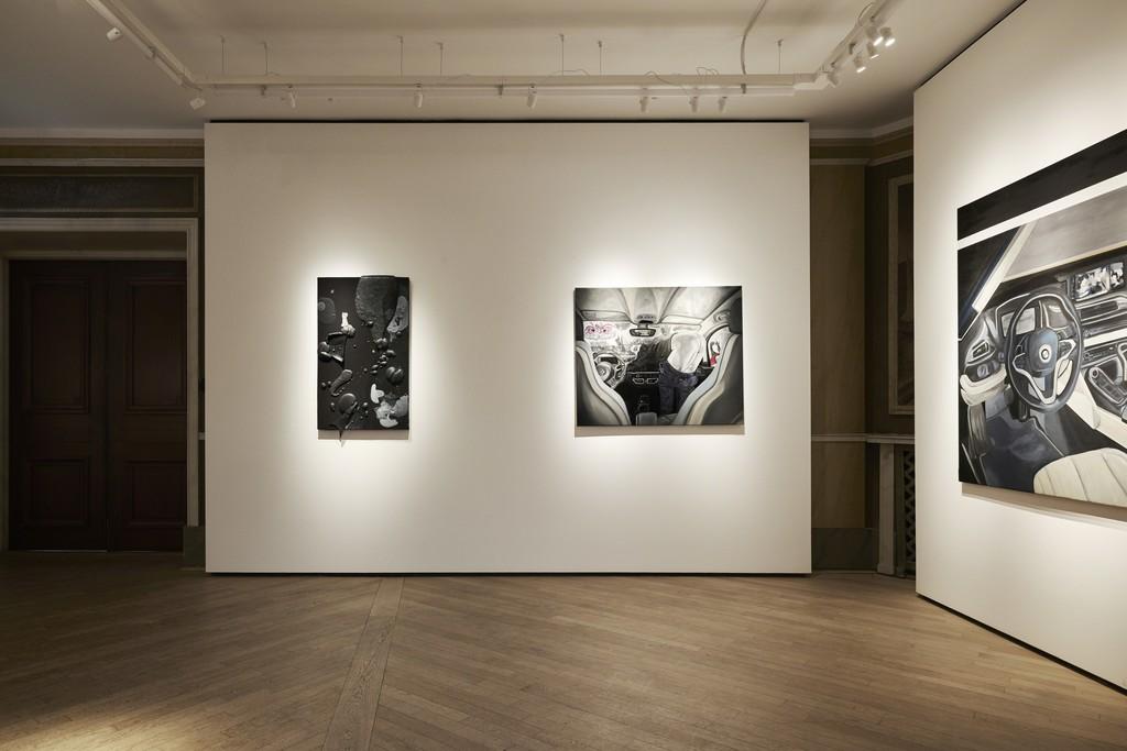 Works by Hayden Dunham and Frieda Toranzo Jaeger.
