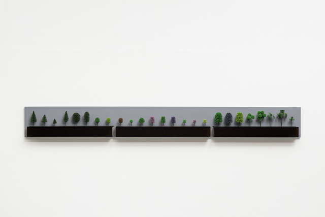 , 'Mostruário de Árvores para maquete (Showcase model for trees) ,' 2003, Galeria Marilia Razuk