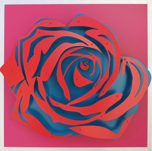 , 'Rose - Red on Magenta,' , FP Contemporary