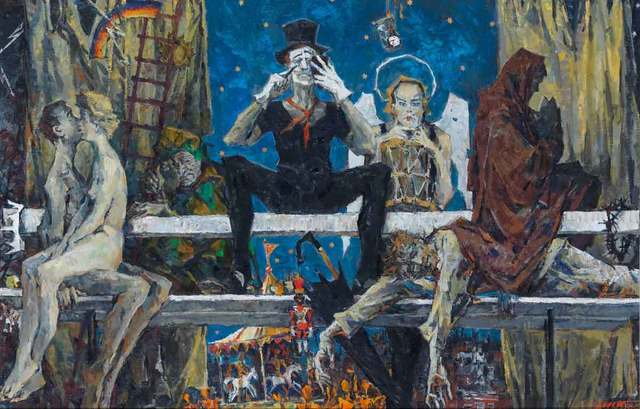 Sergei Chepik, 'The Bench', 1989, Catto Gallery