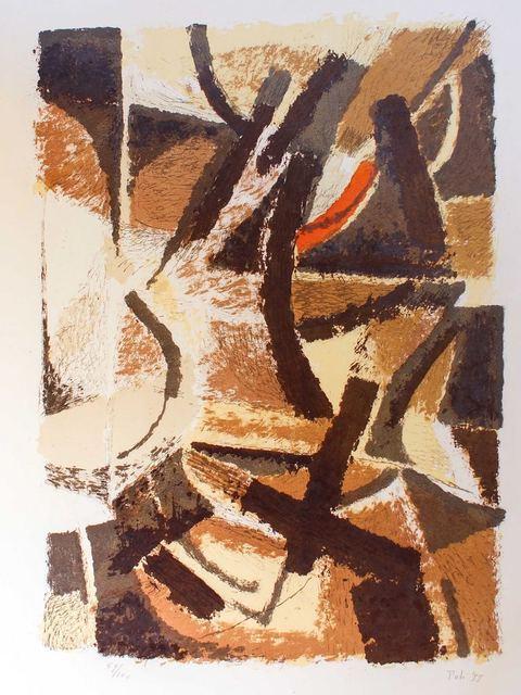Toti Scialoja, 'Abstract Landscape', 1955, Wallector