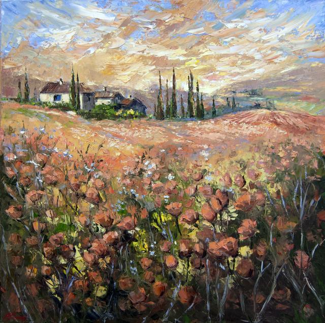 , 'Tuscan Fields,' 2016, Baterbys Art Gallery