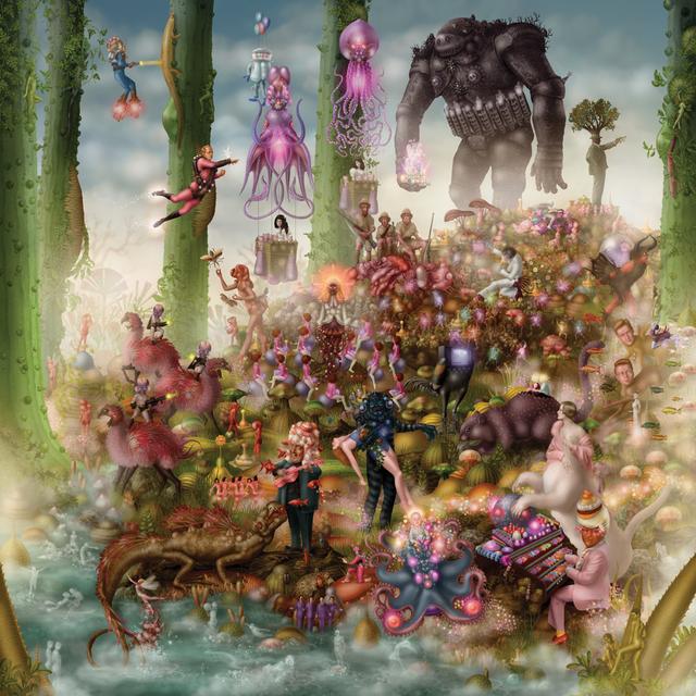 Emile Morel, 'Le Jour où du Haut de sa Défunte Fontaine, Il les Convoqua Tous', 2009, Mark Hachem Gallery