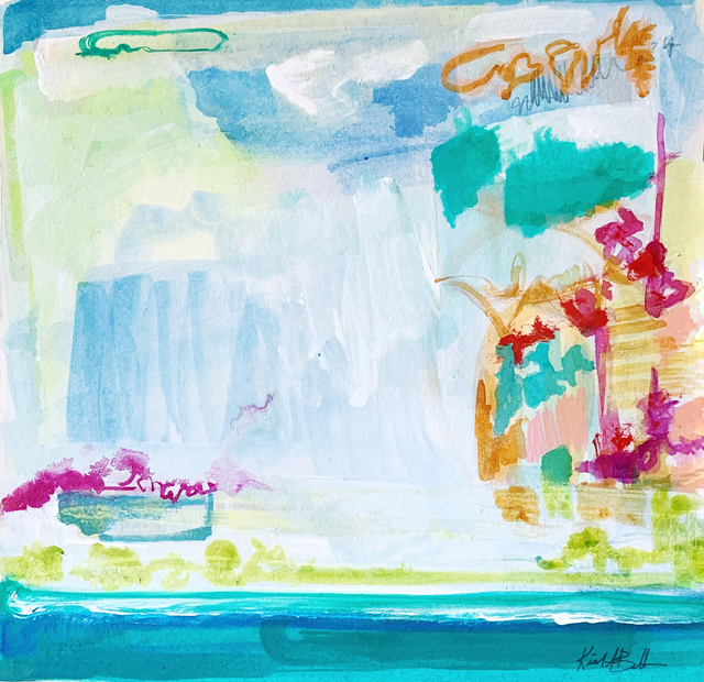 Kiah Bellows, 'Abstract Landscape Series: 5', Miller Gallery Charleston
